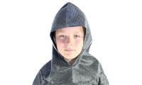 Mail hood silver