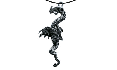 Pendant chin. dragon long