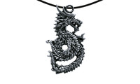 Pendant chin. serpent dragon 4