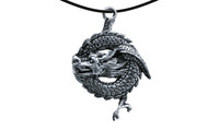 Pendant sleeping dragon