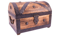 Pirate treasure chest large