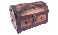 Pirate treasure chest medium