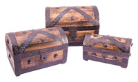 Pirate treasure chest set