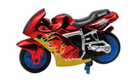 Spin-Go Mini-Stunt-Bike Flame Red