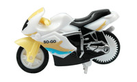 Spin-Go Mini-Stunt-Bike Ninja White