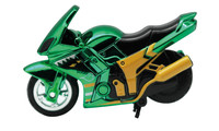 Spin-Go Mini-Stunt-Bike Racing Green