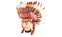 Chieftain headdress for kids