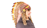 Indian headdress 90 cm