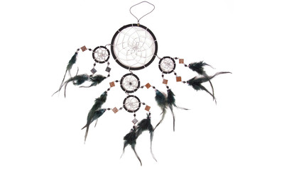 Dreamcatcher with mirrors