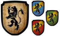 Escutcheon lion