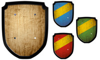 Escutcheon blanco
