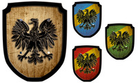 Escutcheon eagle