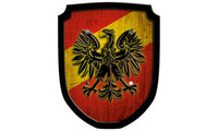 Escutcheon eagle red