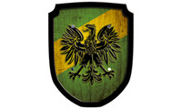 Escutcheon eagle green