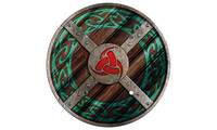 Round shield viking Jarl