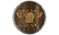 Round shield viking Thrall