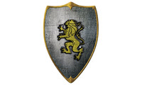 Knight buckler - lion