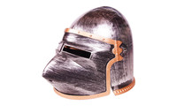 Knights helmet royal silver