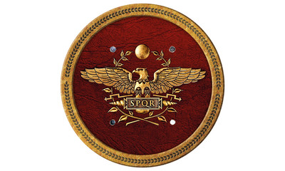 roman shield spqr 1195