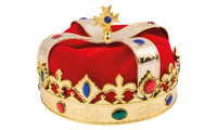 Royal crown Ludwig gold-red