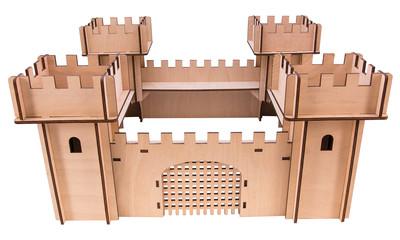 Woodwars Ritterburg Ritterspielzeug 4995