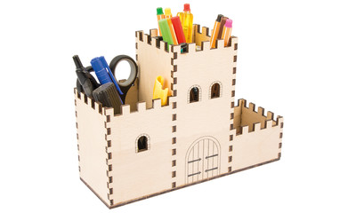 Pen pot castle