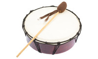 Hand-Drum made of wood