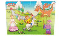 Wooden puzzle Fairy tale - 24 parts