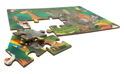 Holz-Puzzle Dschungel - 24 Teile