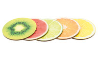 Drink Coaster - Fruit set