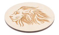 Drink Coaster natural - lion, Set of 4