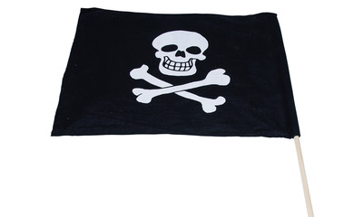 Piratenflagge Baumwolle 2-farbig