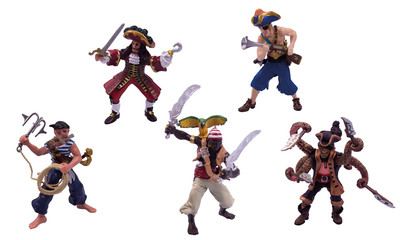 Spielfigurenset Piraten