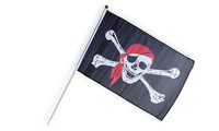 Pirate flag small tricoloured