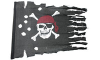 Pirate flag rustic