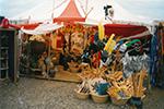 Marktstand Holzspielerei