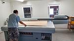 UV-Drucker auf Holzmaterial