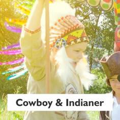 Cowboy und Indianer Spielwelt